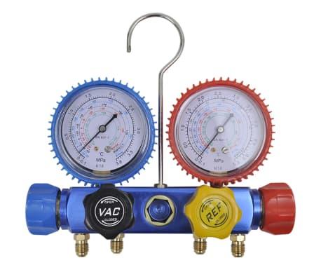 vidaXL Pompe d'aspiration à un étage et manomètres à 4 voies[16/16]