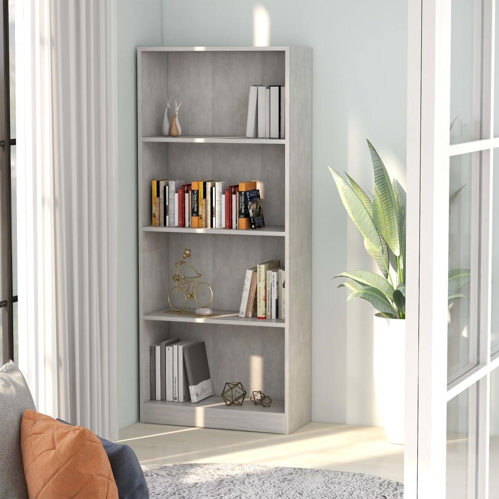 4-korruseline raamaturiiul betoonhall 60x24x142 p..