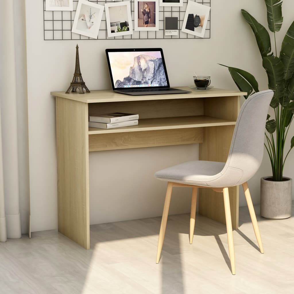 Psací stůl dub sonoma 90 x 50 x 74 cm dřevotříska