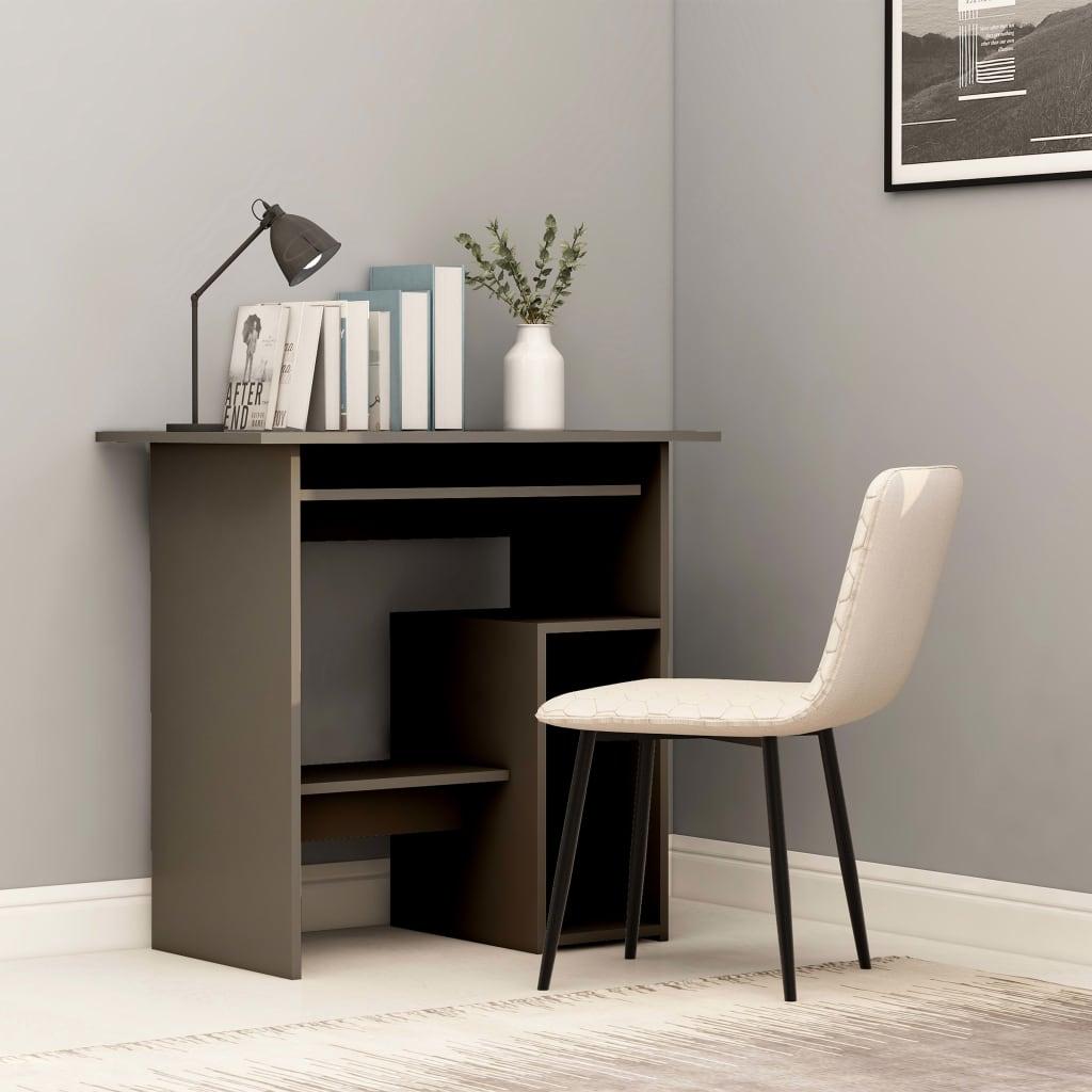 Psací stůl šedý 80 x 45 x 74 cm dřevotříska