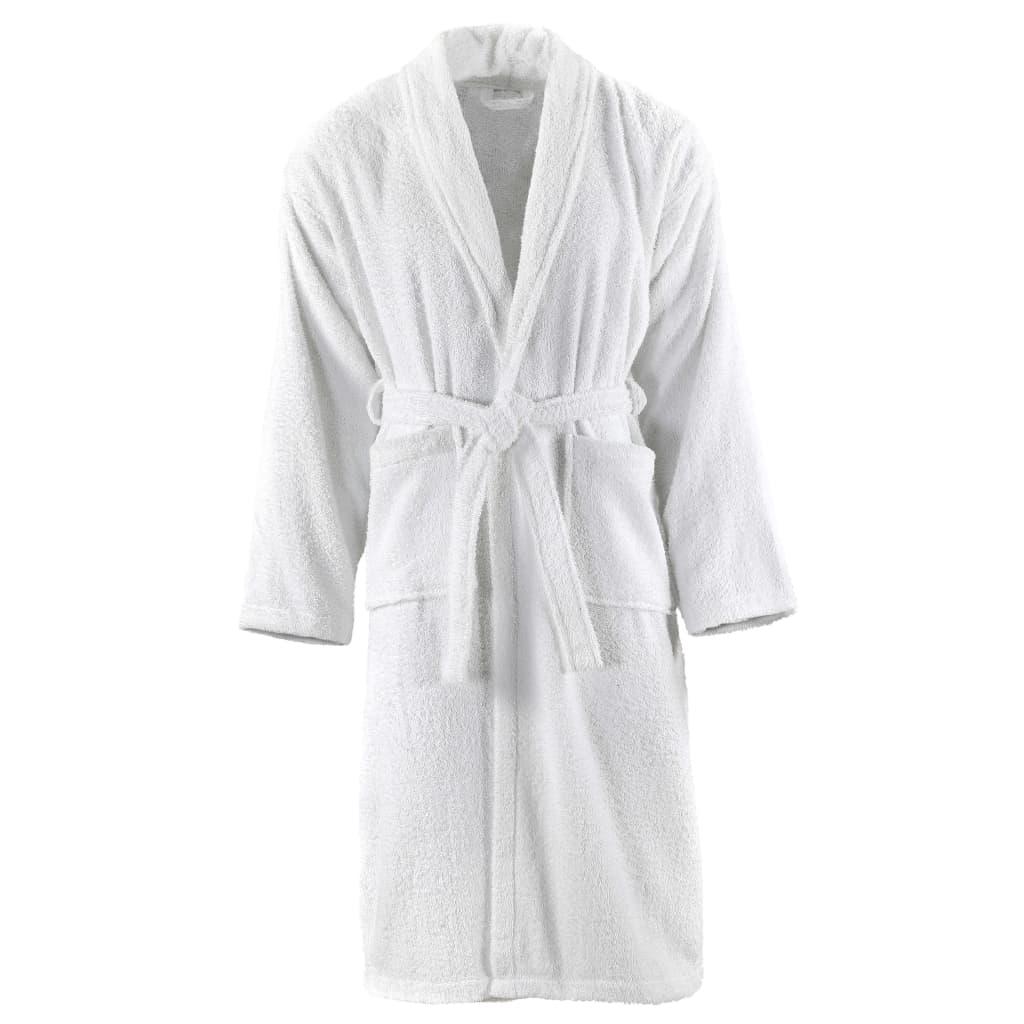 Unisex froté župan 100% bavlna bílý XL