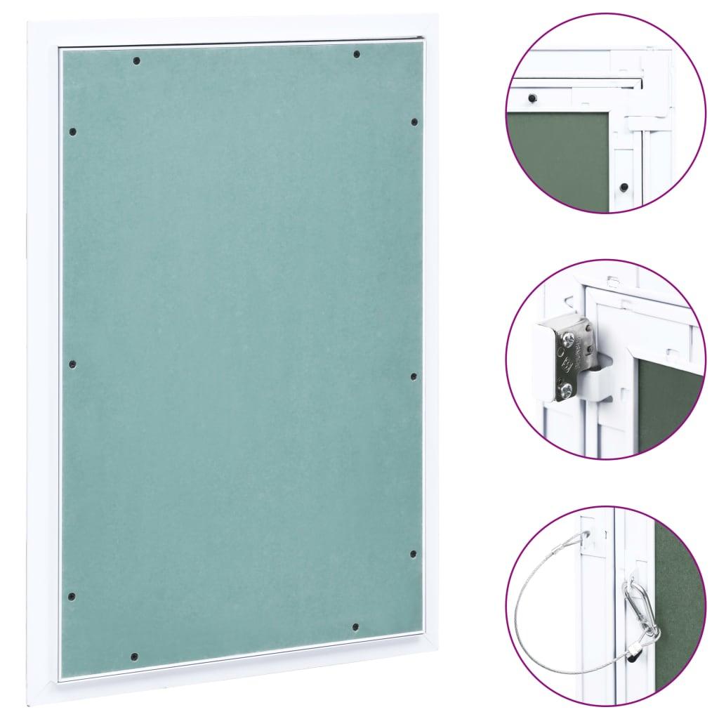 vidaXL Trapă de acces din gips-carton, cadru de aluminiu, 300 x 600 mm imagine vidaxl.ro