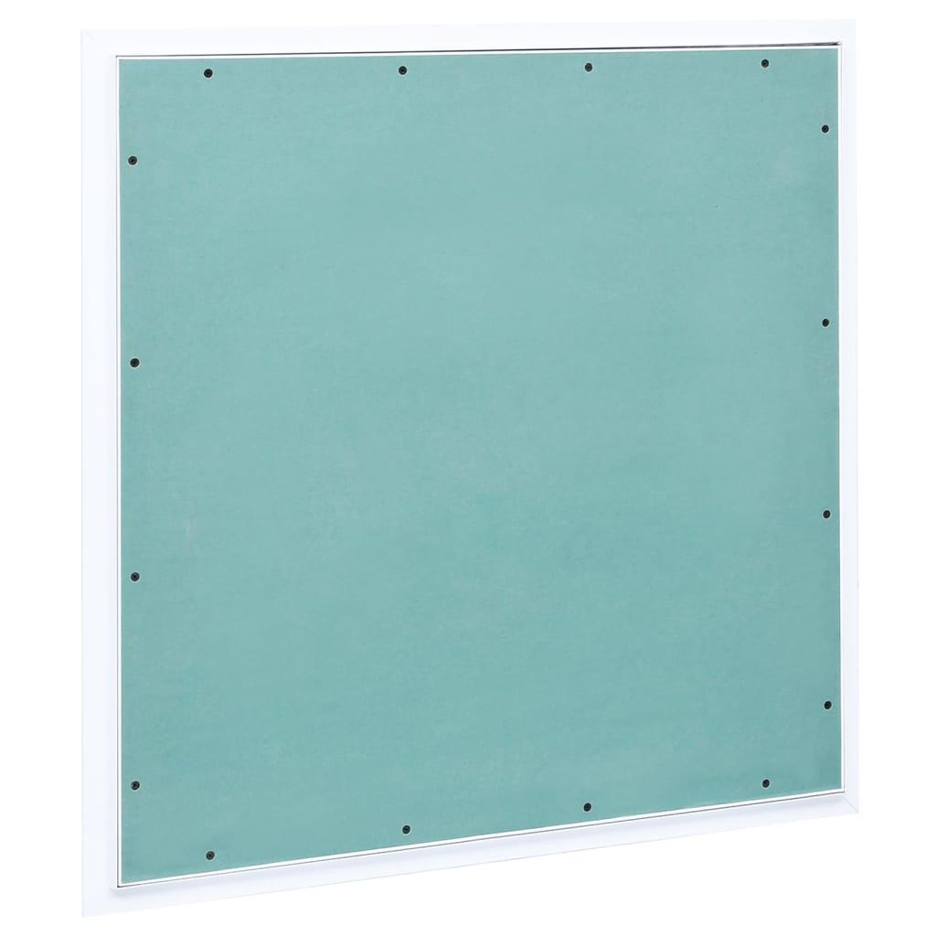 Ligipääsupaneel alumiiniumraami ja kipsiga 500 x 500 mm
