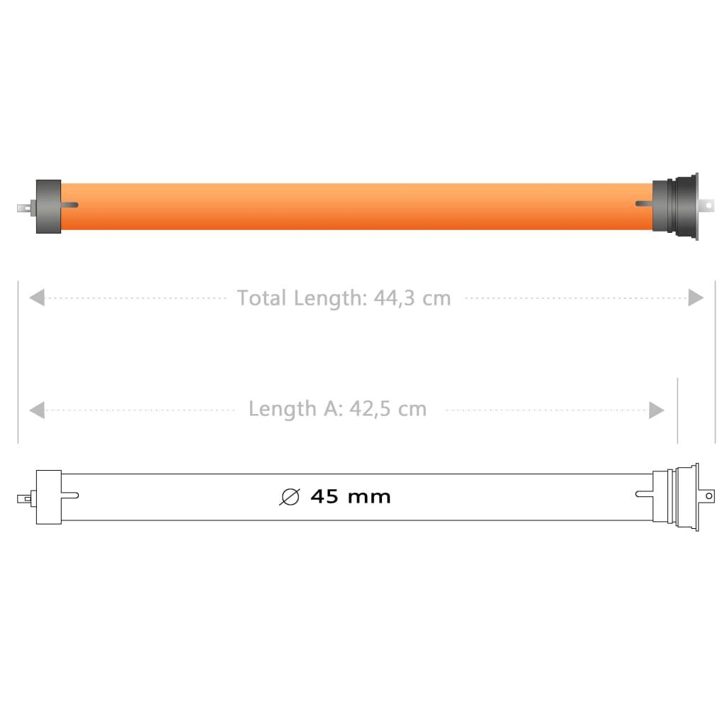 Ruloomootorid, 3 tk, 10 Nm