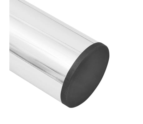 vidaXL Pieds de table télescopiques 4 pcs Chrome 710 mm - 1100 mm[5/6]