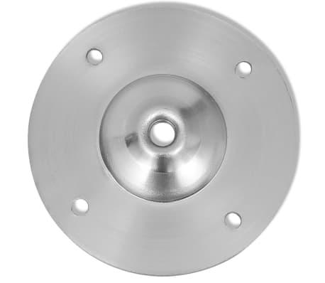 vidaXL Pieds de table télescopiques 4 pcs Nickel brossé 710 mm-1100 mm[6/6]