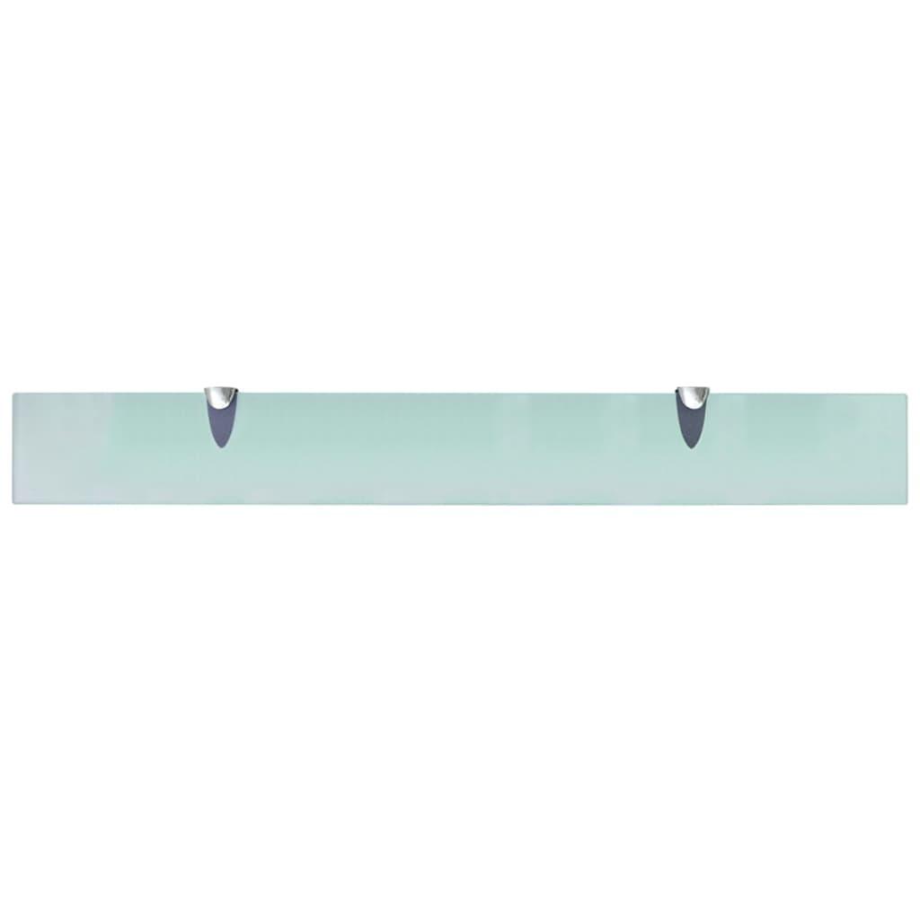 Seinariiulid 2 tk klaasist 80 x 10 cm 8 mm