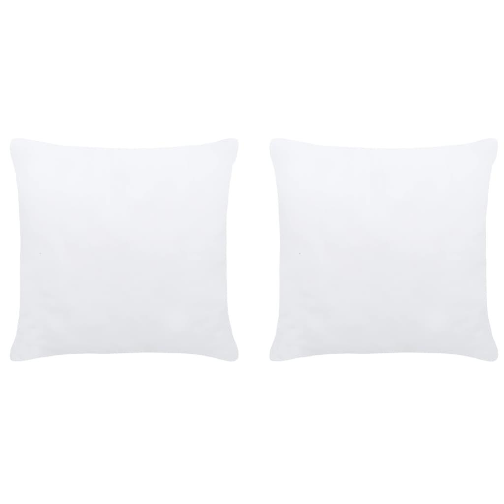vidaXL Umpluturi de perne, 2 buc., alb, 30 x 30 cm imagine vidaxl.ro