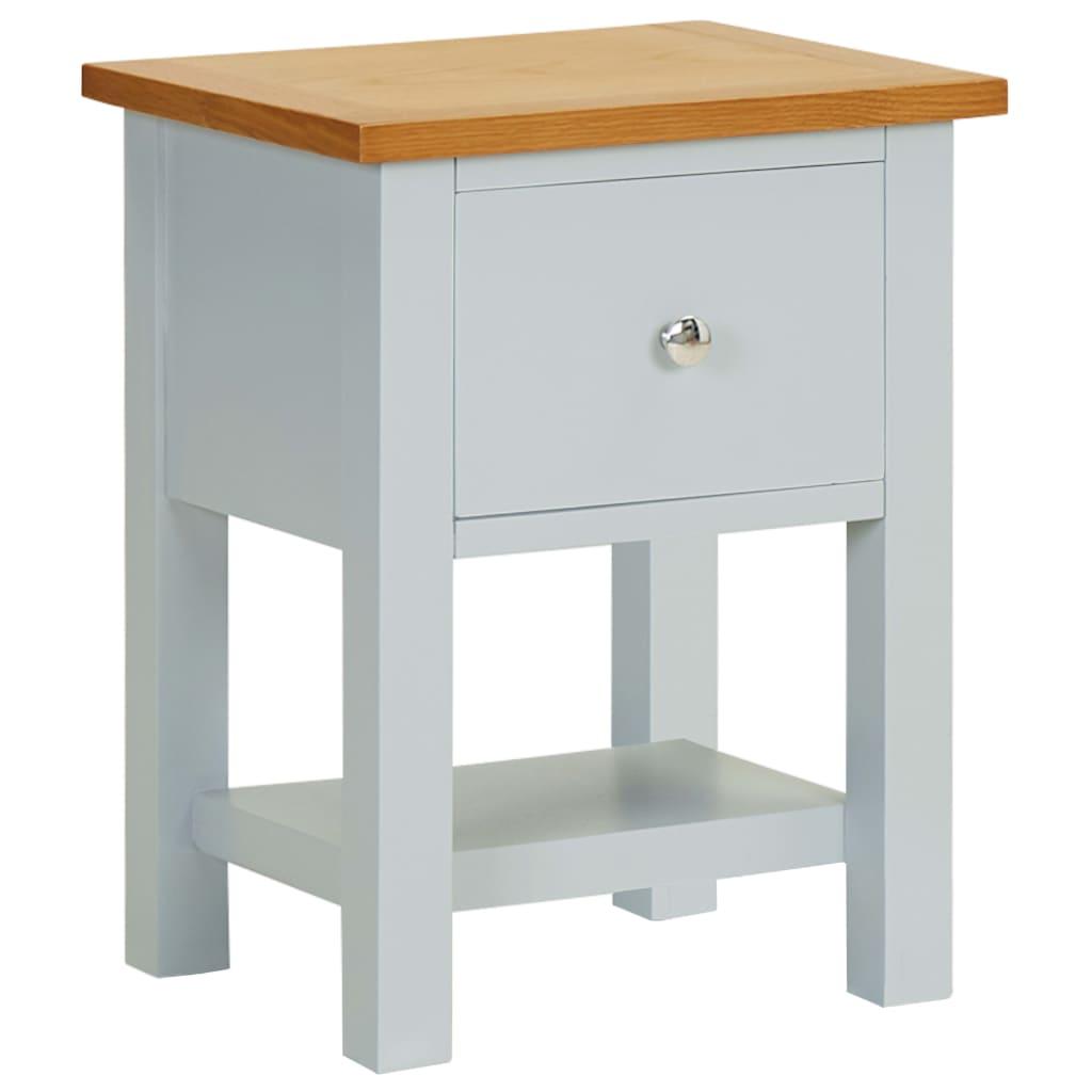 Noční stolek 36 x 30 x 47 cm masivní dubové dřevo