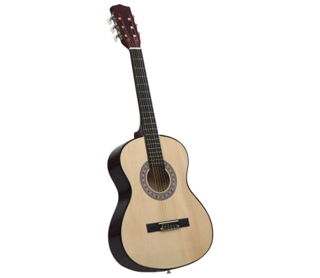 """vidaXL Guitare classique pour débutants 4/4 39"""" Tilleul"""