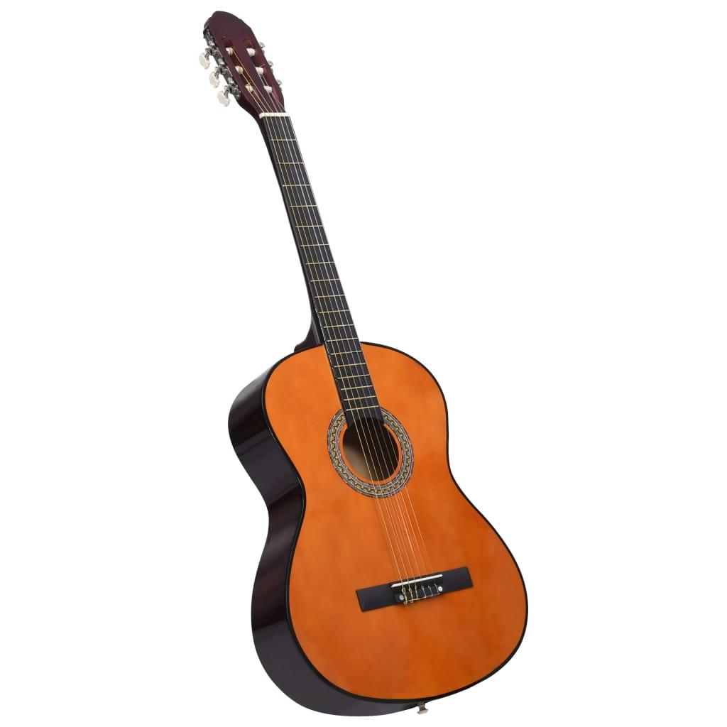 Klasická kytara pro začátečníky 4/4 39'' basswood