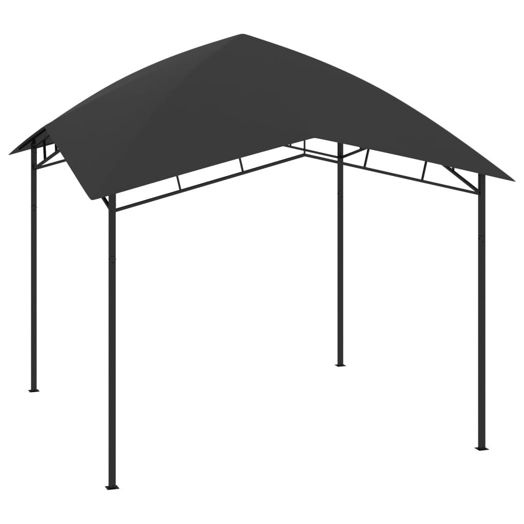 vidaXL Pavilion de grădină, antracit, 3 x 3 x 2,9 m, 180 g/m² title=vidaXL Pavilion de grădină, antracit, 3 x 3 x 2,9 m, 180 g/m²