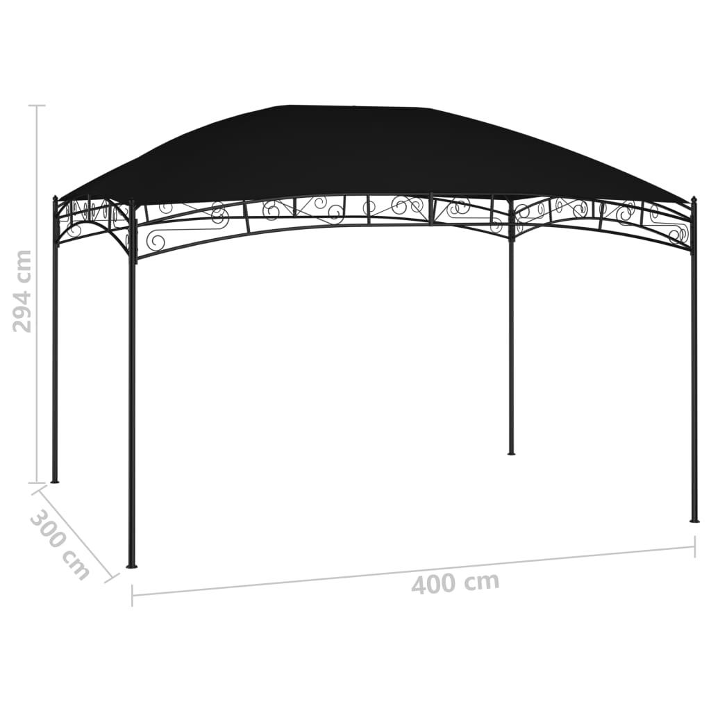 Tuinprieel 180 g/m² 4x3 m antraciet