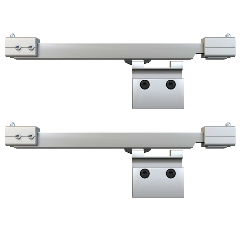 vidaXL Schuifdeur met zachte stops 90x205 cm ESG-glas en aluminium