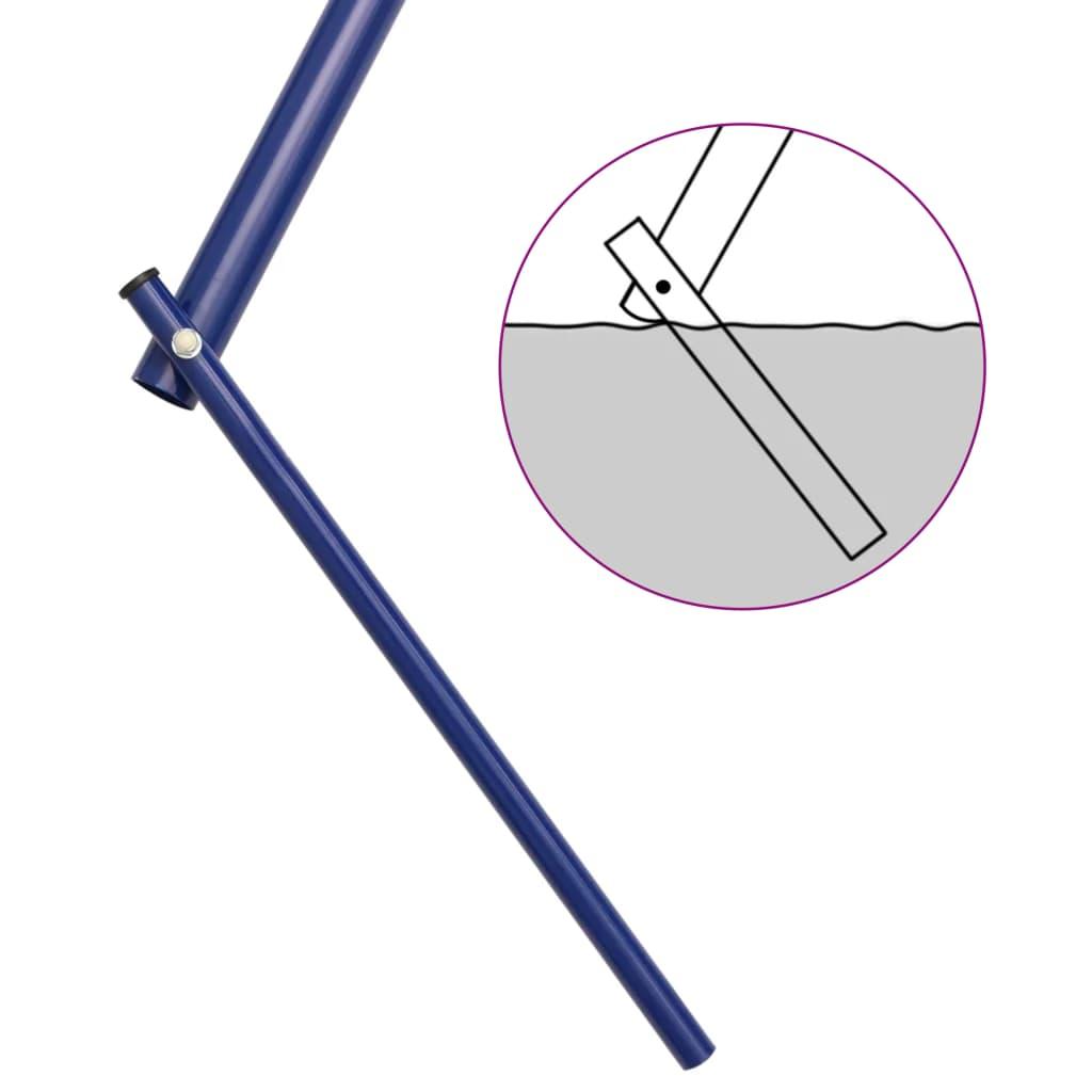 vidaXL Schommelset met turnringen en 4 zitjes staal