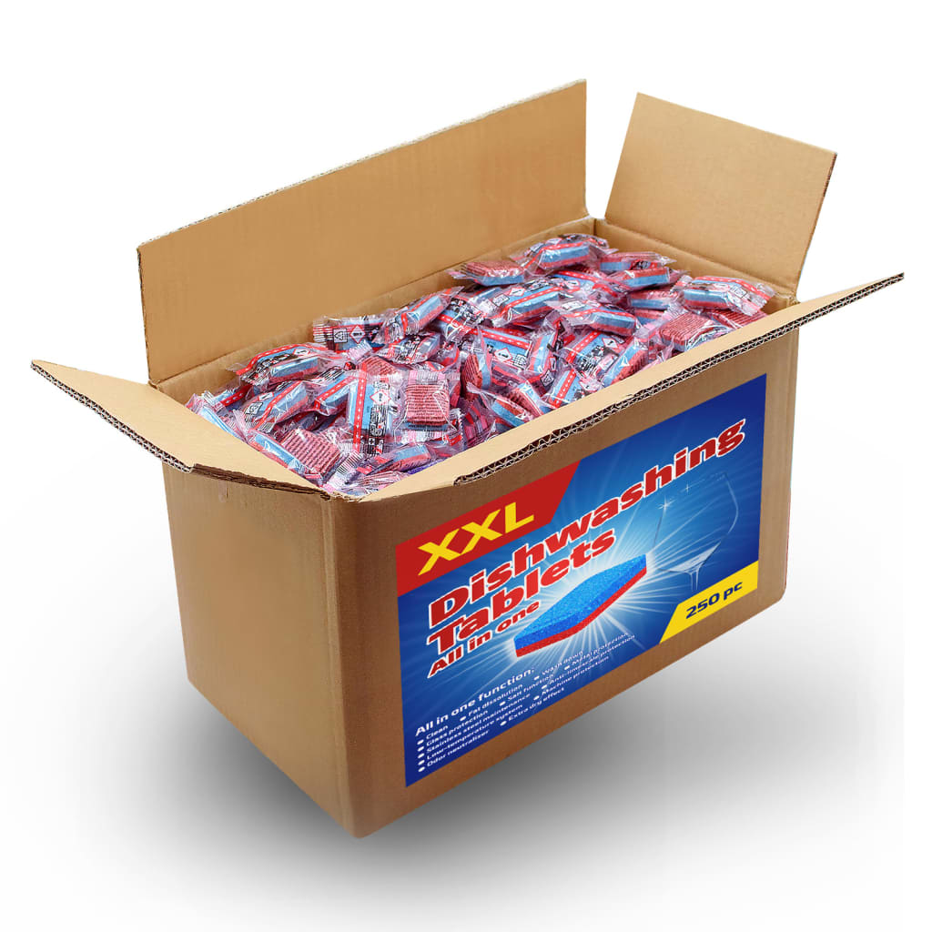 Tablety do myčky 12-v-1 250 ks 4,5 kg