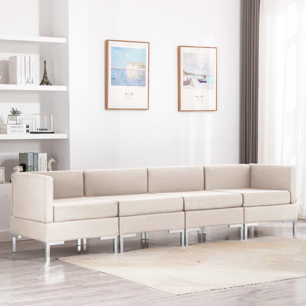 Canapé Tissu Confort