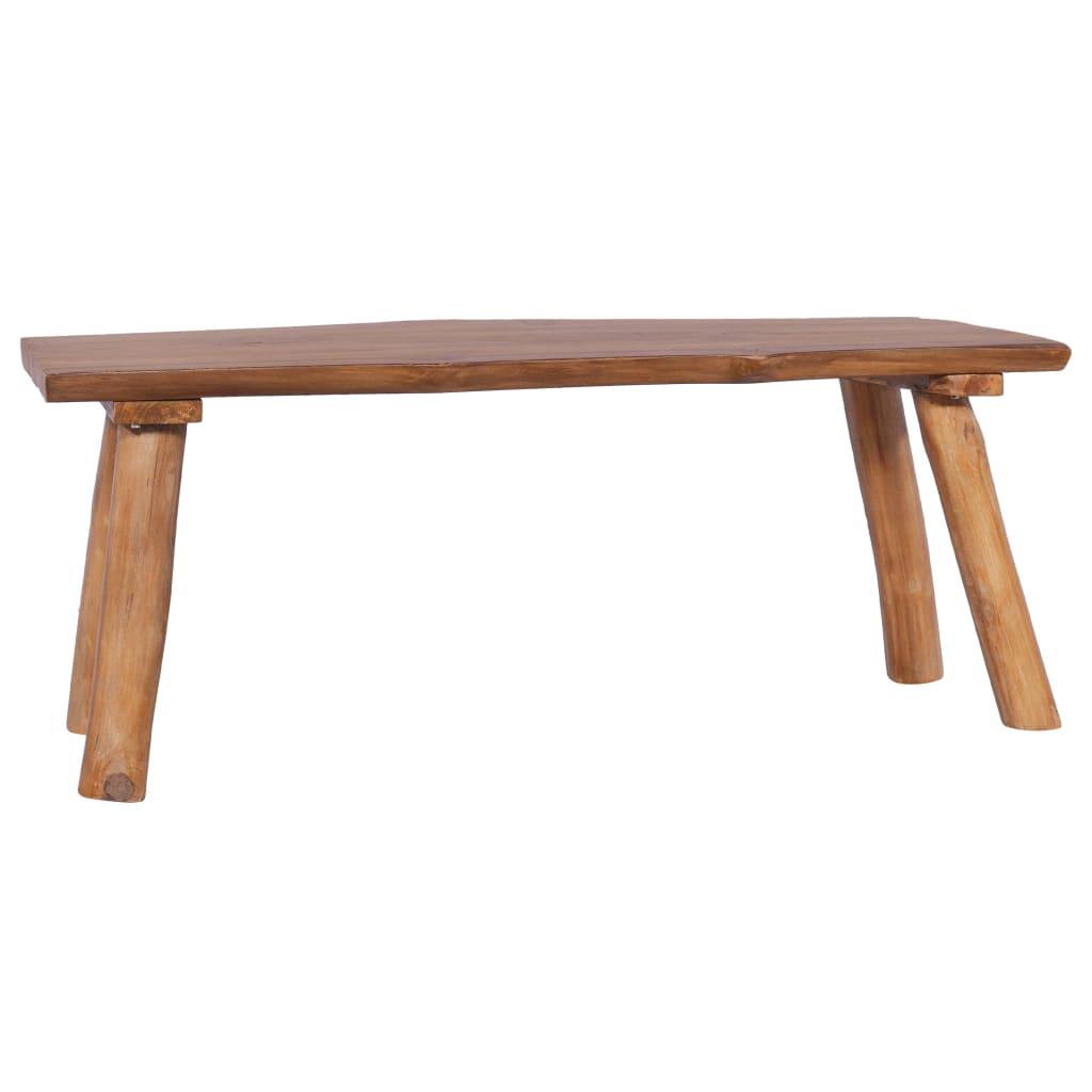 vidaXL Zahradní lavice 120 cm masivní teakové dřevo