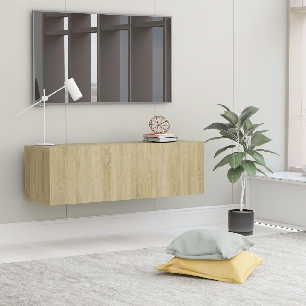 TV stolek dub sonoma 100 x 30 x 30 cm dřevotříska