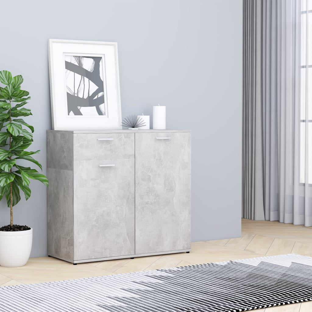 Puhvetkapp betoonhall 80 x 36 x 75 cm, puitlaastp..