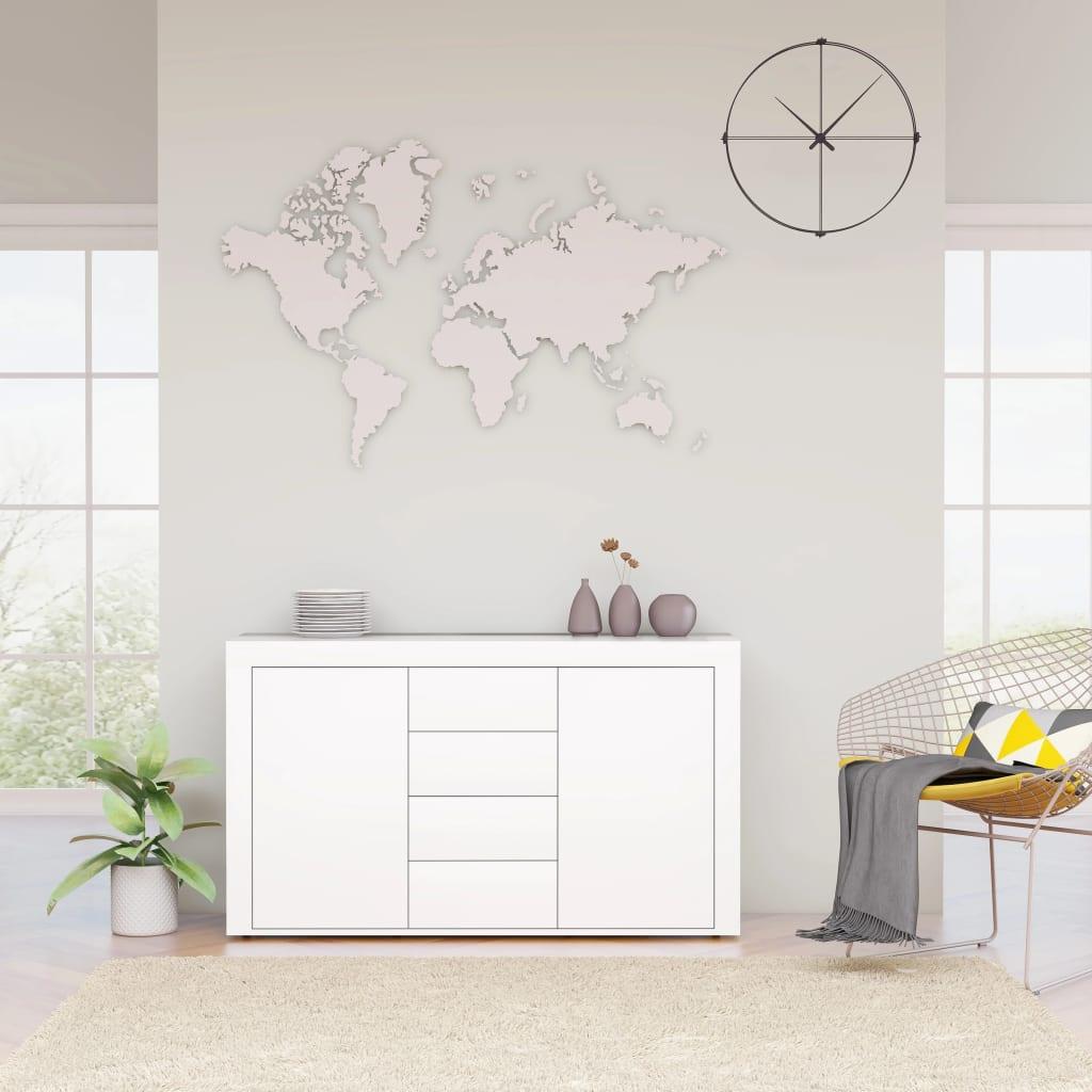vidaXL Servantă, alb, 120 x 36 x 69 cm, PAL vidaxl.ro