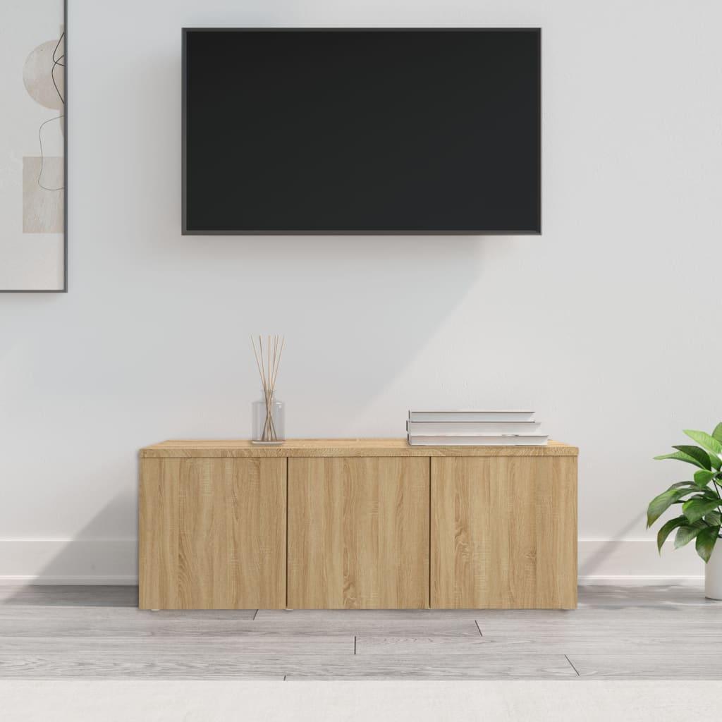 TV stolek dub sonoma 80 x 34 x 30 cm dřevotříska