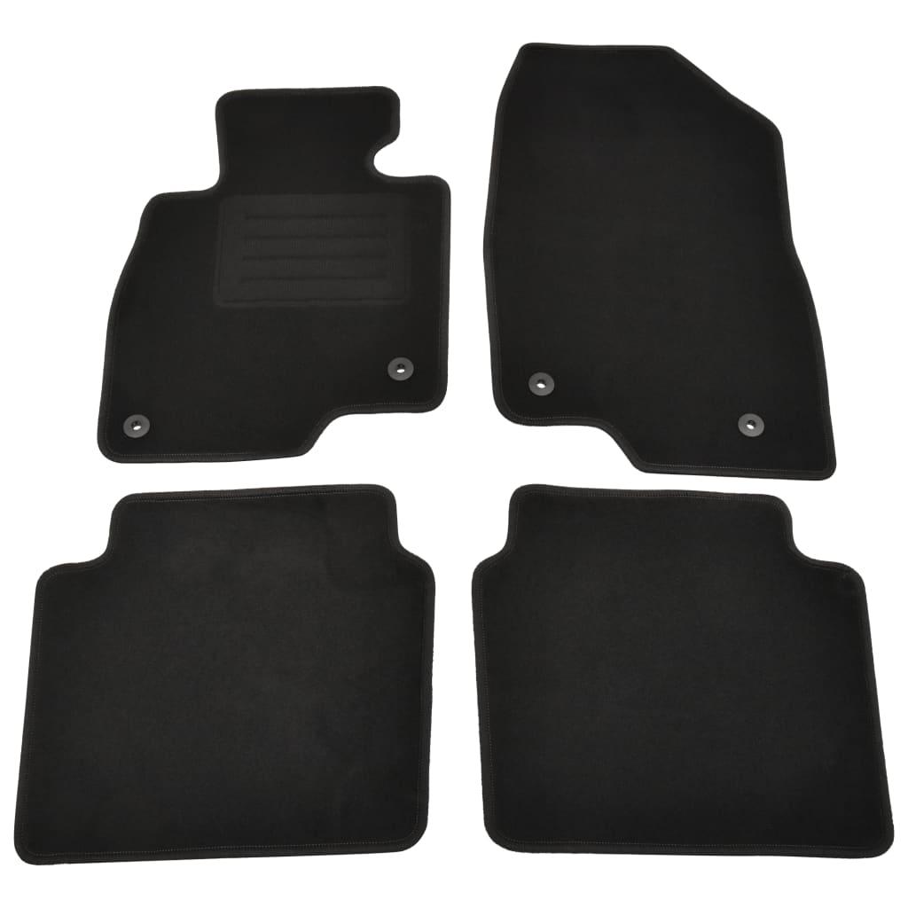 vidaXL 4-dijelni set automobilskih prostirki za Mazdu 6 Sedan