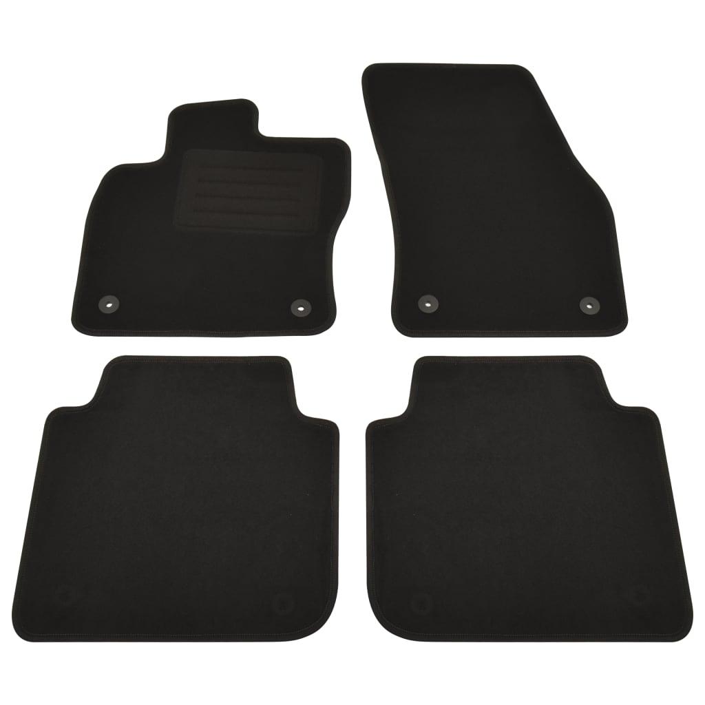 vidaXL Set covorașe auto pentru Seat Tarraco versiune 5 locuri 4 buc. imagine vidaxl.ro