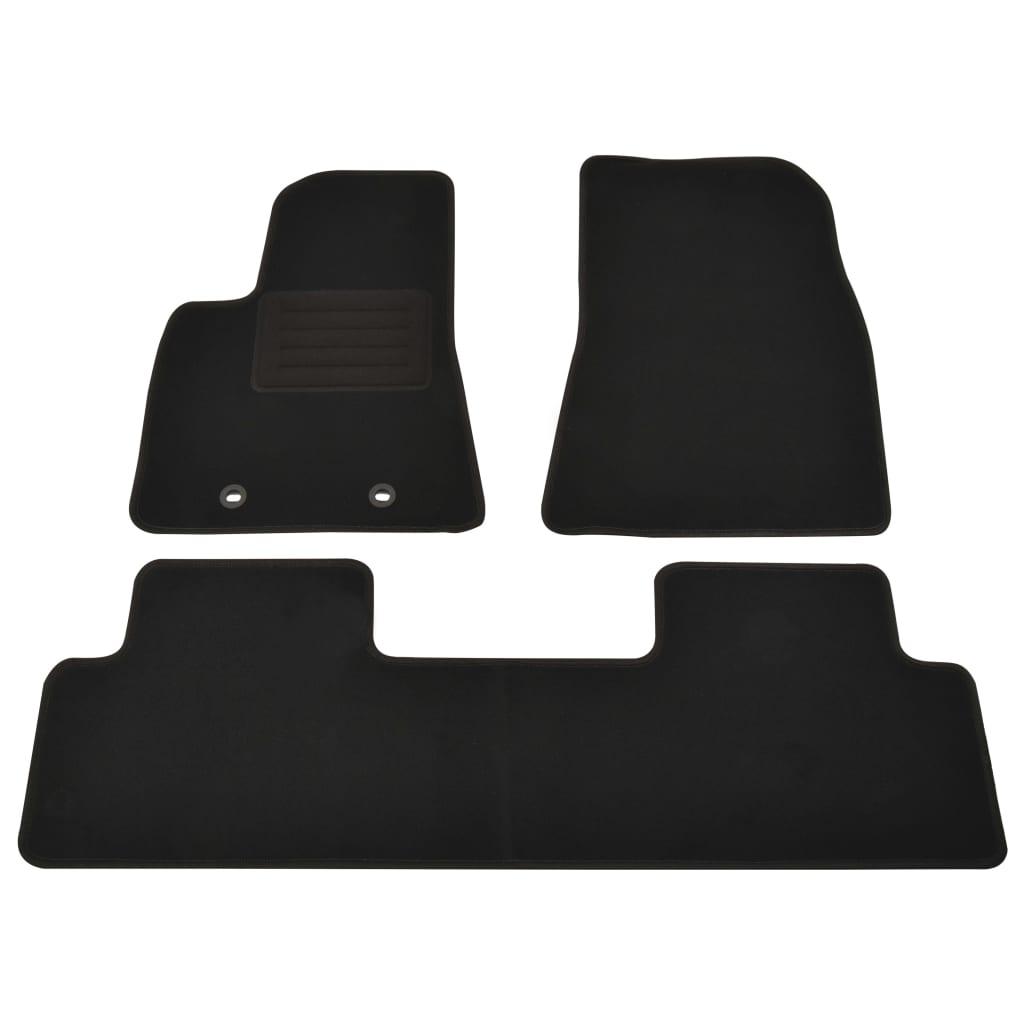 vidaXL Set covorașe auto pentru Tesla Model 3, 3 buc. poza vidaxl.ro