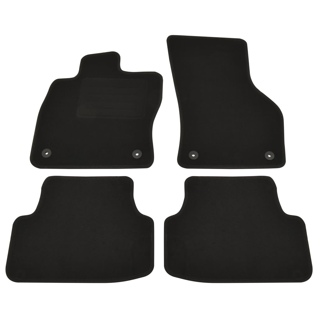 vidaXL Set covorașe auto pentru VW Golf 8, 4 buc. imagine vidaxl.ro