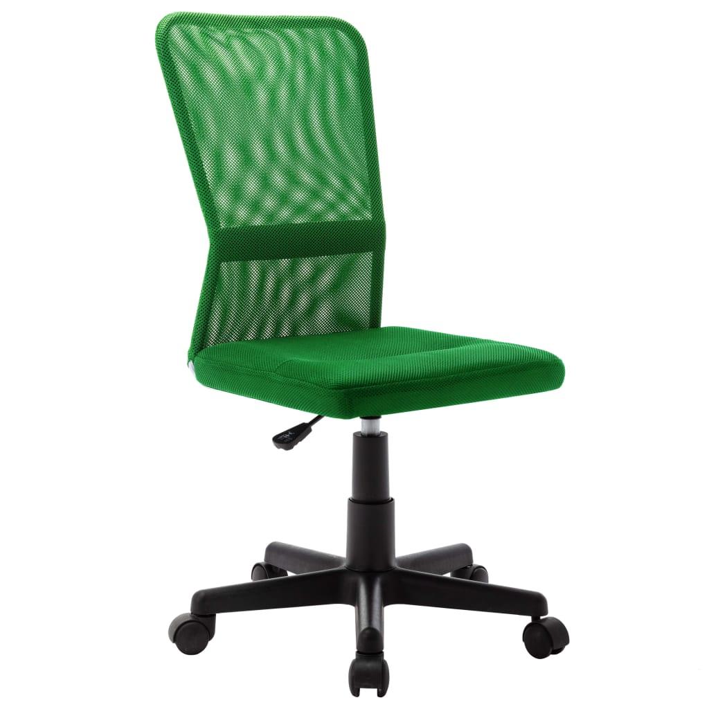 vidaXL Scaun de birou, verde, 44 x 52 x 100 cm, plasă textilă poza 2021 vidaXL