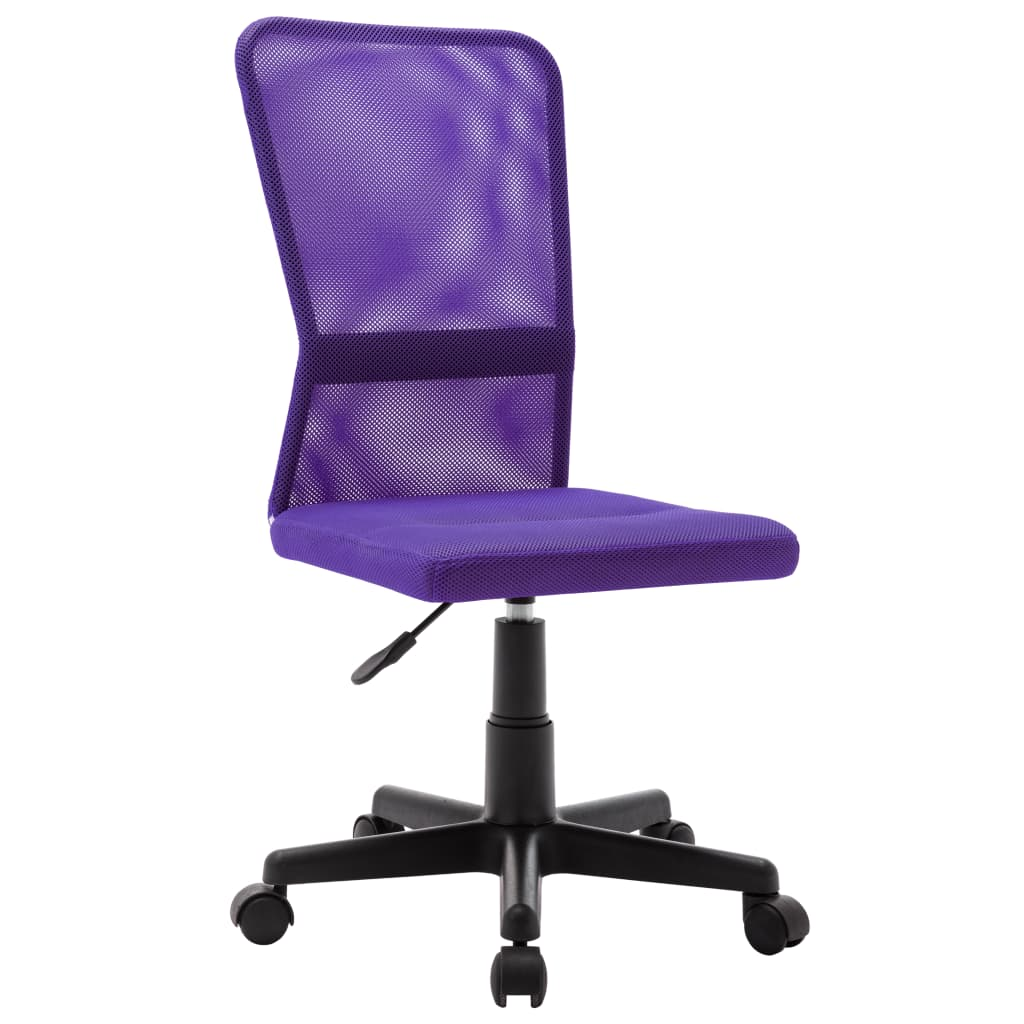 vidaXL Scaun de birou, violet, 44x52x100 cm, țesătură plasă vidaxl.ro