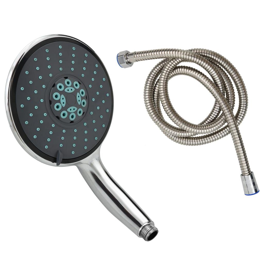 Multifunkční ruční sprchová hlavice s 1,5m hadicí chrom
