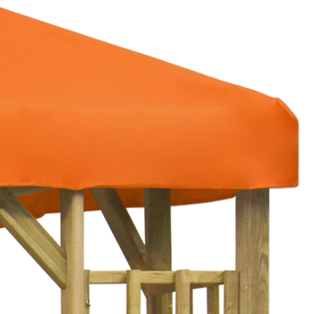 Prieel 3x3 m oranje