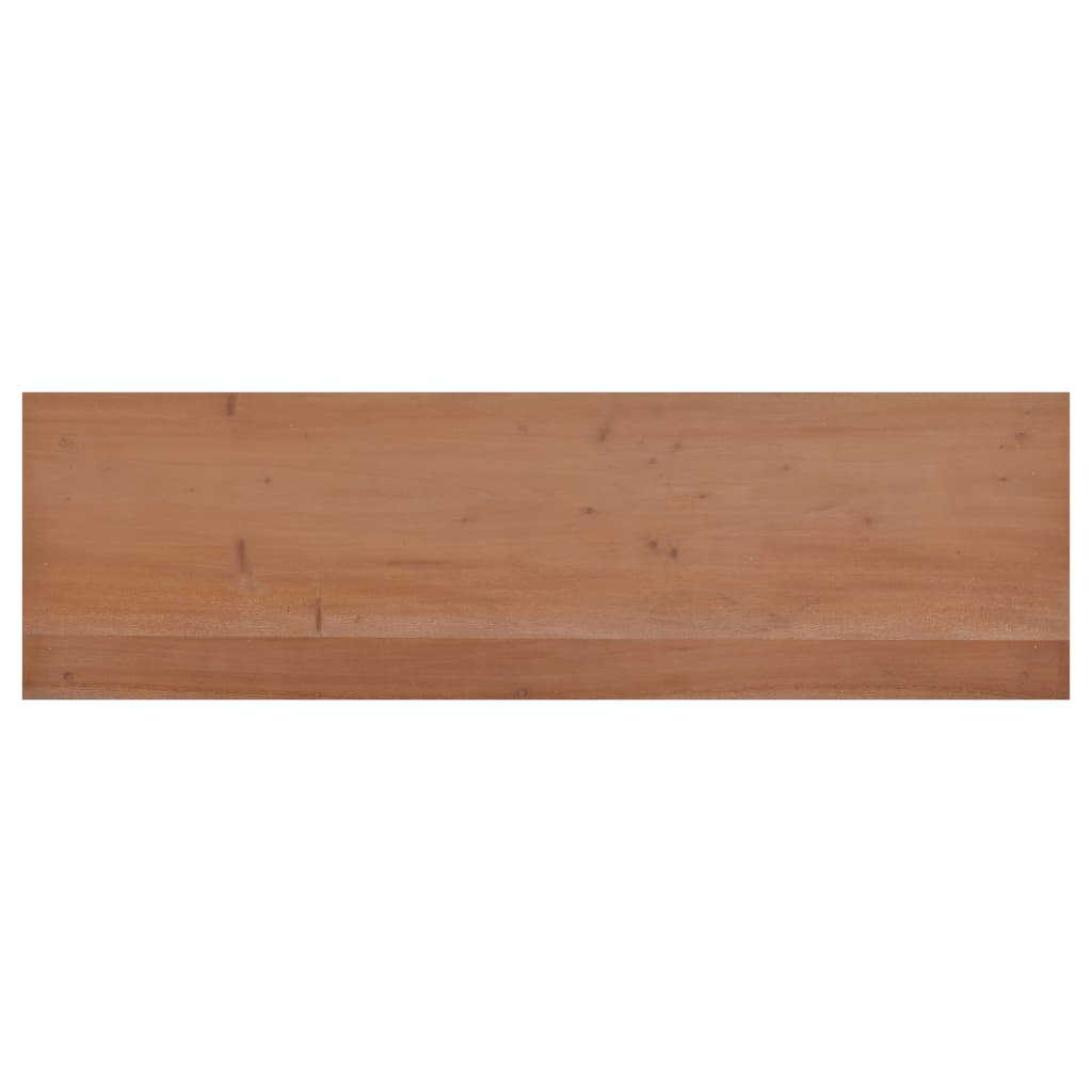 vidaXL Tv-meubel 100x30x45 cm massief mahoniehout