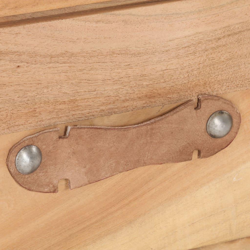 vidaXL Nachtkastje 40x30x50 cm massief gerecycled hout