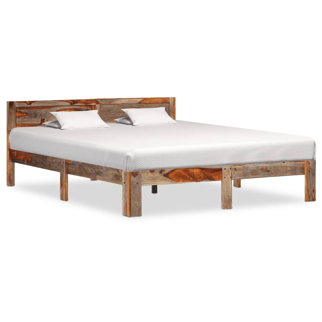 vidaXL Cadru de pat, 180 x 200 cm, lemn masiv de sheesham vidaxl.ro