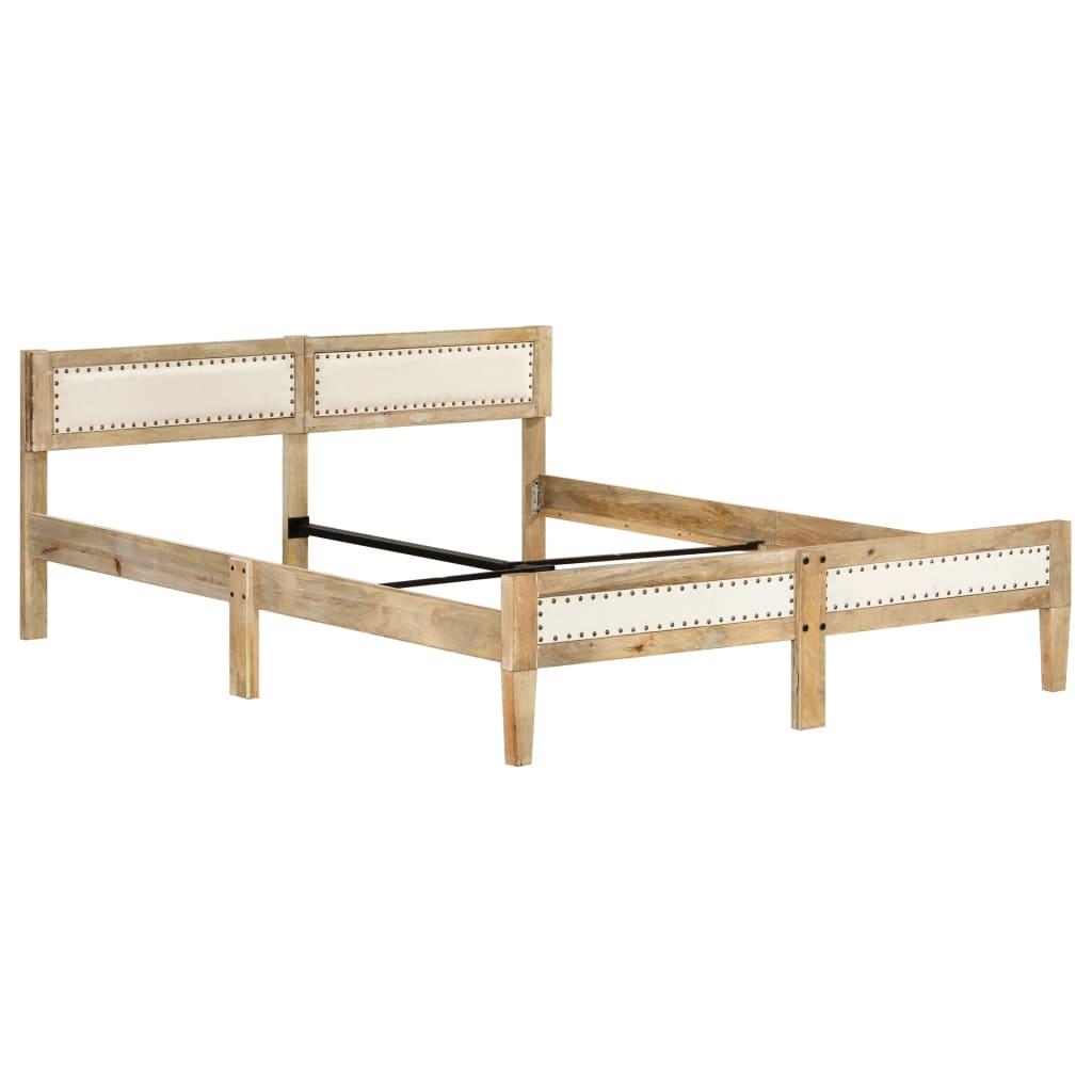 vidaXL Bedframe massief mangohout 180 cm