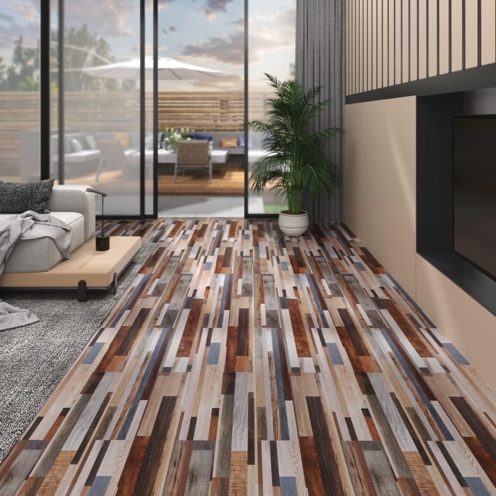 Podlahová krytina PVC 5,02 m² 2 mm samolepicí vícebarevná
