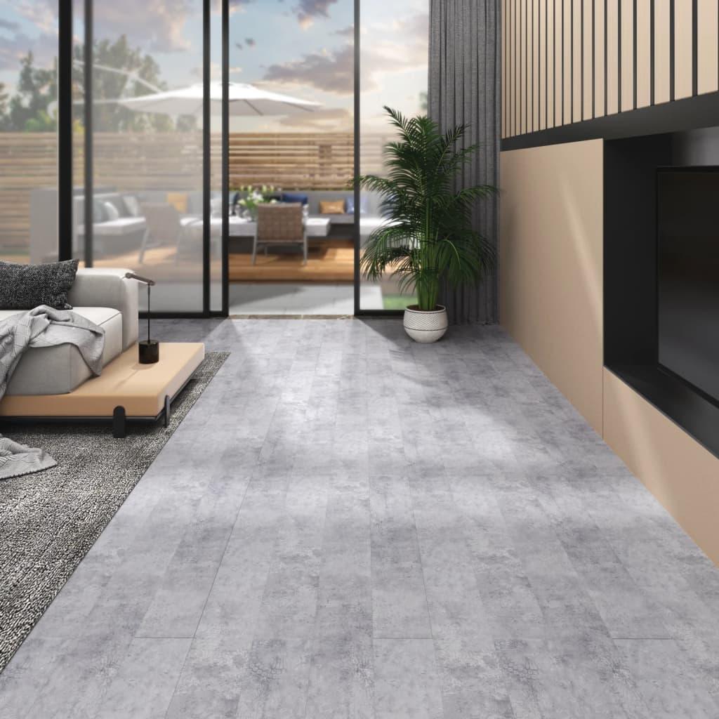 Podlahová krytina PVC 5,26 m² 2 mm cementově šedá