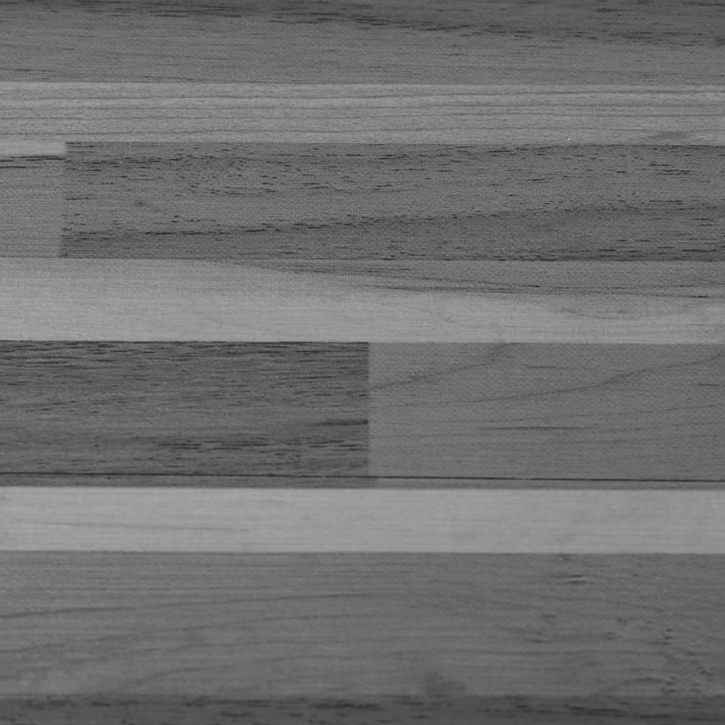 vidaXL Vloerplanken zelfklevend 4,46 m² 3 mm PVC gestreept grijs