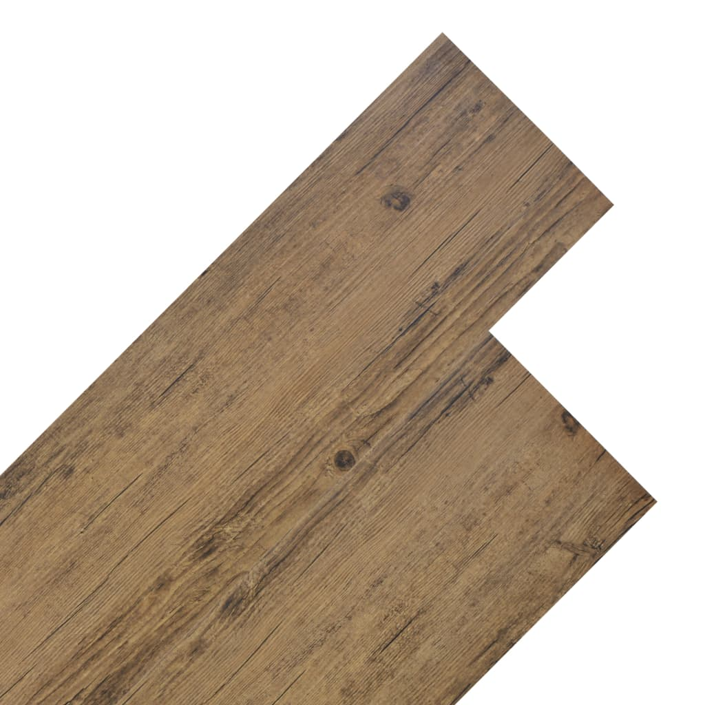 Podlahové desky PVC 4,46 m² 3 mm ořechově hnědé