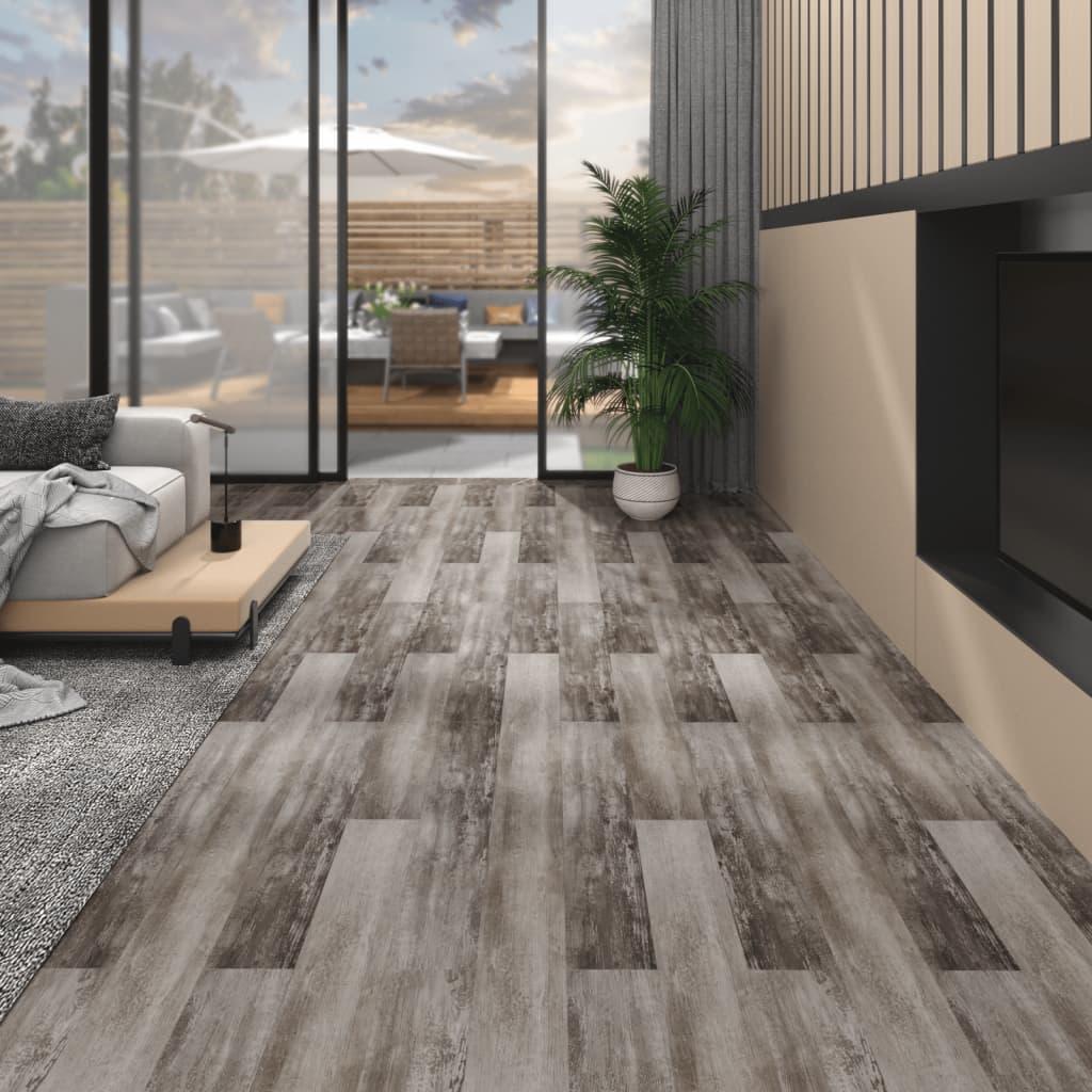 Podlahová krytina PVC 5,26 m² 2 mm matné dřevo hnědé