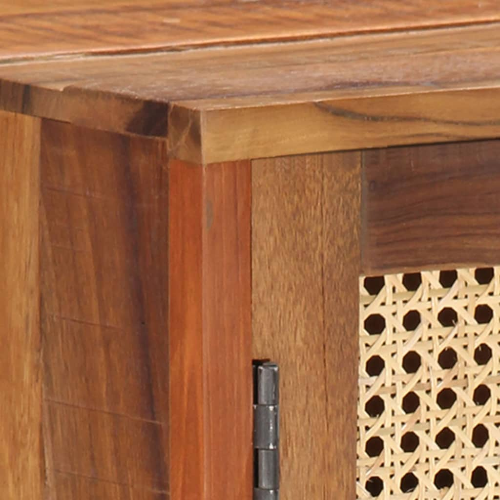 vidaXL Dressoir 118x30x76 cm massief gerecycled hout