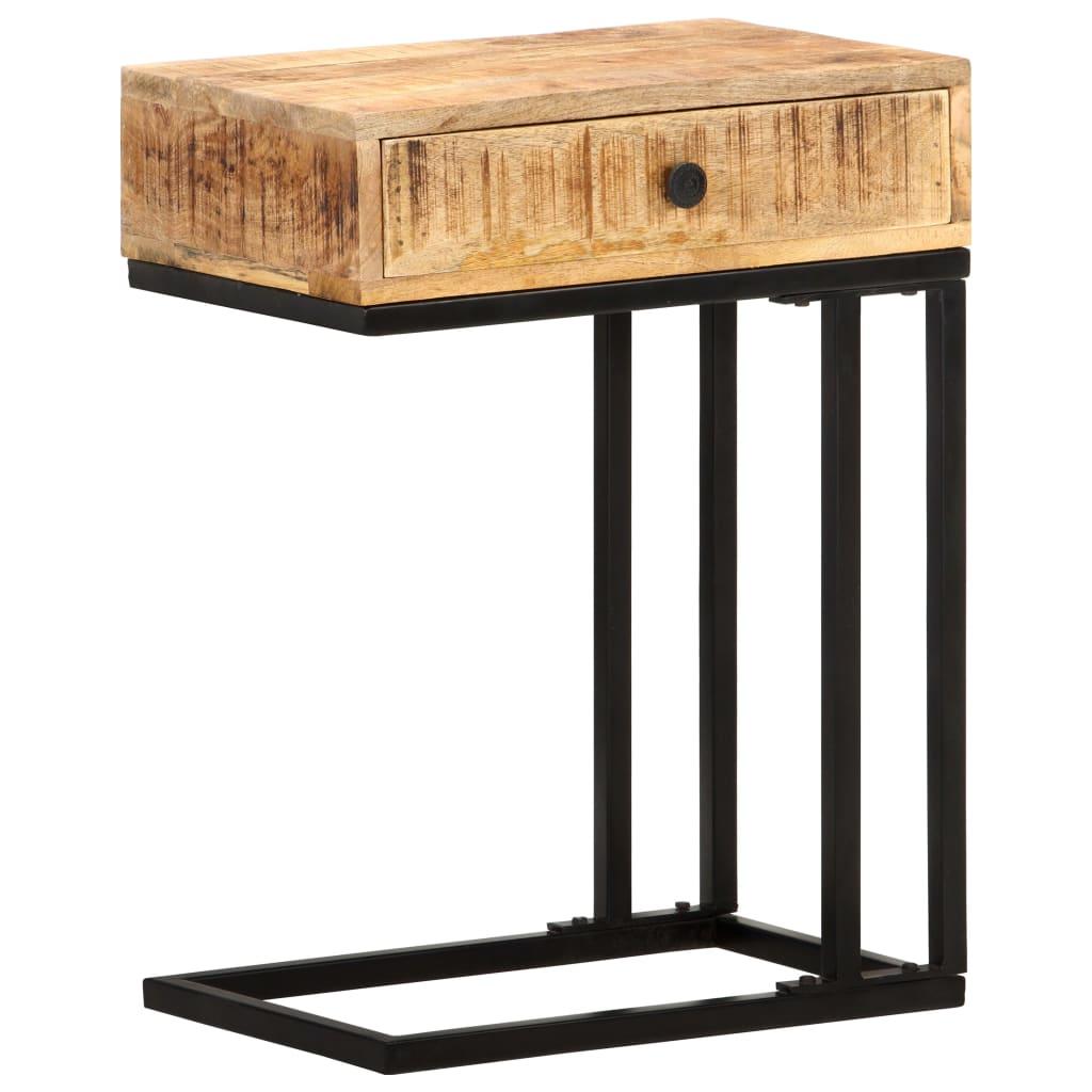 vidaXL Masă laterală formă U, 45 x 30 x 61 cm, lemn masiv de mango poza 2021 vidaXL