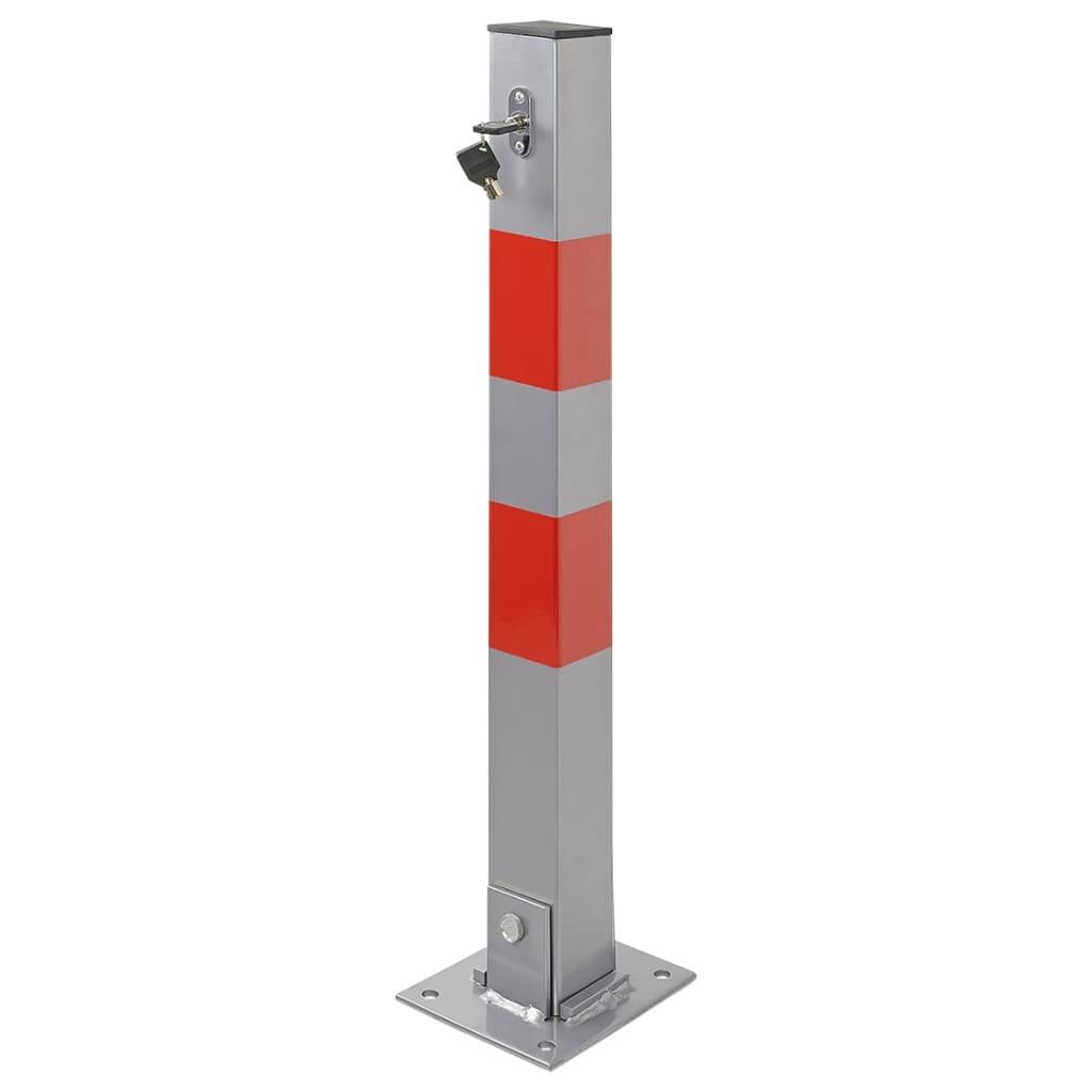 ProPlus Stâlp pentru parcare cu încuietoare poza vidaxl.ro