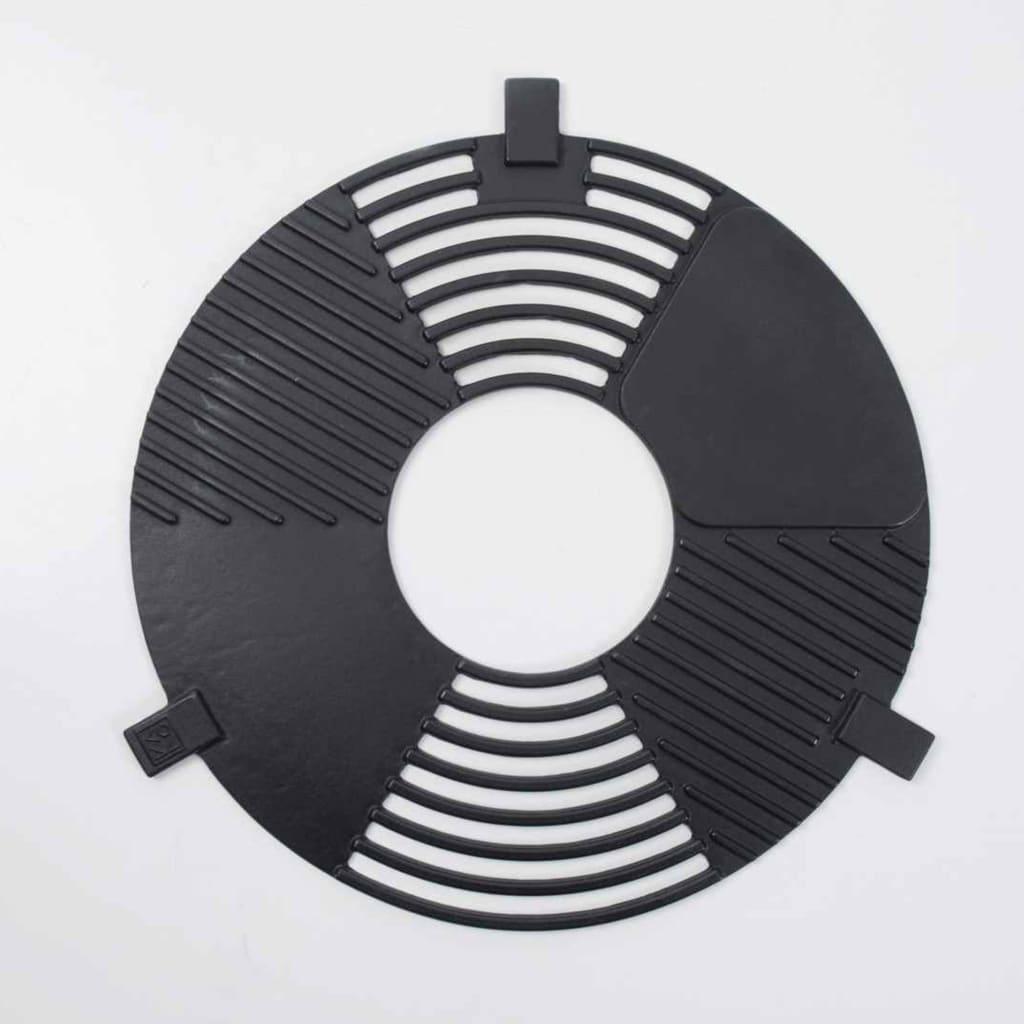 BBGRILL BBQ Plancha grill staal zwart