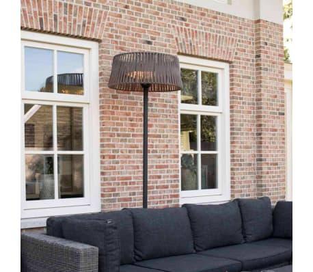 Sunred fritstående terrassevarmer Artix Corda 2100 W halogen brun[6/10]