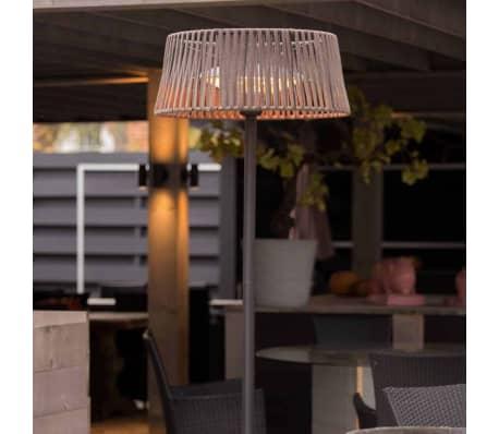 Sunred fritstående terrassevarmer Artix Corda 2100 W halogen brun[8/10]