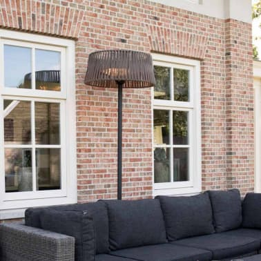 Sunred fritstående terrassevarmer Artix Corda 2100 W halogen brun[3/10]